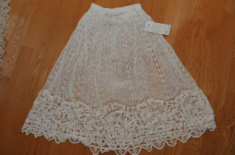 LIMS-VINTAGE-New-COTTON-HAND-CROCHET-SKIRT-S-M-L
